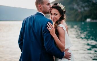 Un beau mariage sur le Lac d'Annecy